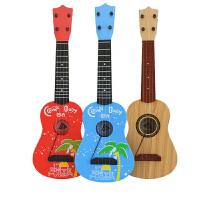 儿童仿真尤克里里迷你乐器宝宝初学者男女孩四弦吉他玩具可弹奏
