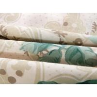 棉加厚夹棉枕套 棉枕头套拉链式单层枕皮花边枕套一对(2只)