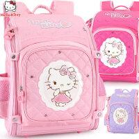 小学生hello kitty女童书包1-3-4年级6-12岁女孩减负儿童双肩背包