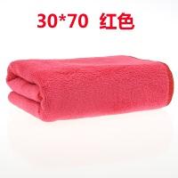 洗车毛巾超细纤维磨绒加厚吸水不掉毛擦车专用毛巾布汽车用品工具
