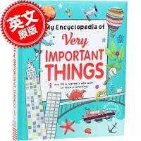 现货 我的重要事物百科书 英文原版 My Encyclopedia of Very Important Things