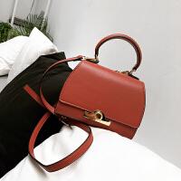 手拎包包女新款时尚女包单肩包锁扣包手提包女小包