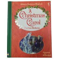 A Christmas Carol 英文原版 Usborne经典儿童文学系列:圣诞颂歌 狄更斯 原文无删减 全彩插图版