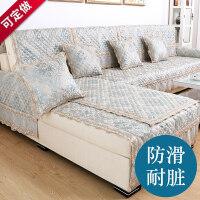 沙发垫欧式布艺四季通用防滑夏季坐垫现代简约全包沙发套巾罩全盖