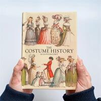 世界各国民族古代服装史 Racinet. The Complete Costume History  画册 画集 漫画 连环画 水彩 古典 油画 艺术绘画作品 油画书