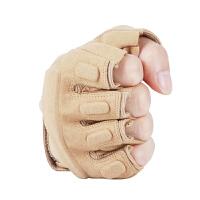 2018特种兵黑鹰战术手套半指透气登山运动夏户外防滑骑行 男女