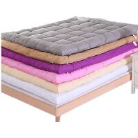加厚床垫1.5m床1.8m单双人0.9m羽丝棉软床褥子学生宿舍地铺睡垫被