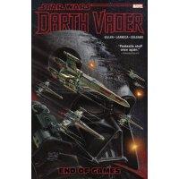 [现货]星球大战漫画 英文原版 Star Wars: Darth Vader Vol. 4: End of Games