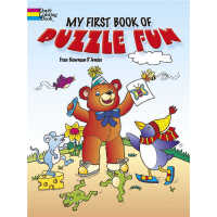 My First Book of Puzzle Fun (【按需印刷】)