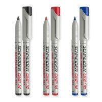 原装进口德国施耐德Schneider记号笔 maxx 225M 水性胶片笔 可擦记号笔 非永久性