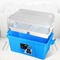 起亚K4 K3 K2 K5狮跑智跑秀尔汽车收纳箱车载后备箱储物箱整理箱收纳盒车用