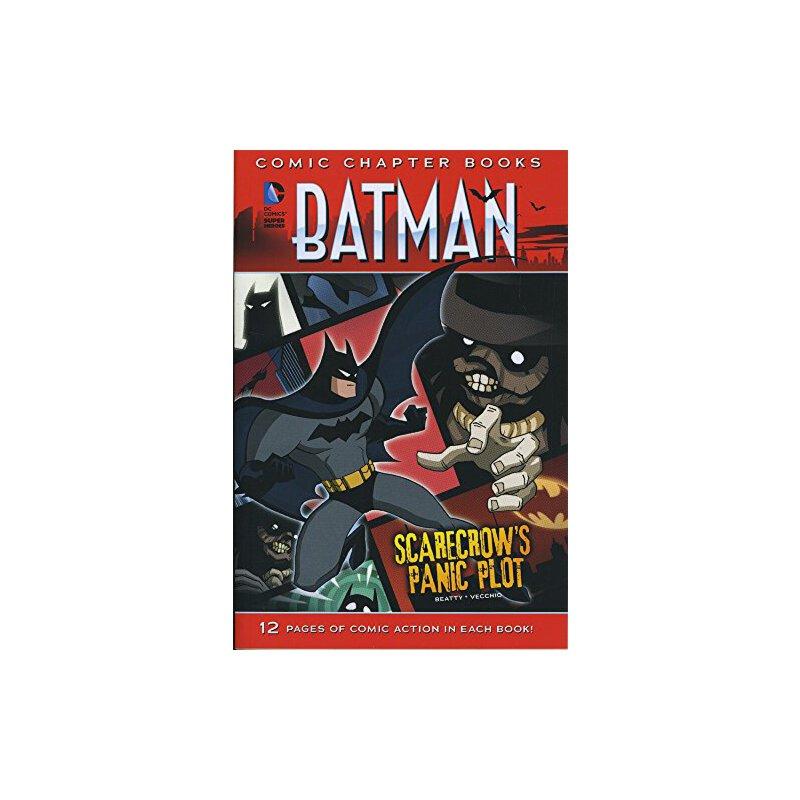 英文原版 Scarecrow's Panic Plot (Batman: Comic Chapter Books)