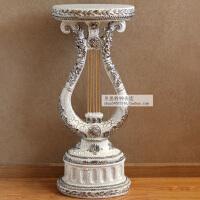 奢华欧式复古家居装饰品落地摆件罗马柱组合柱高档花几花架电话几