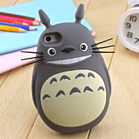 7plus卡通龙猫iphone5s/c/6硅胶套苹果6plus手机壳 【iPhone6 plus】龙猫