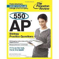 【预订】550 AP Biology Practice Questions