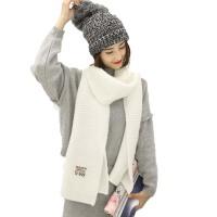 秋冬季长款围脖披肩  男女士学生丝巾毛线厚围巾