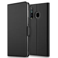 三星A8s手机壳保护套翻盖商务可插卡防摔于galaxy A8s手机壳