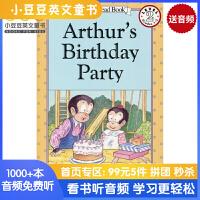 英文绘本 原版进口 Arthur's Birthday Party 亚瑟的生日派对 汪培�E [4-8]