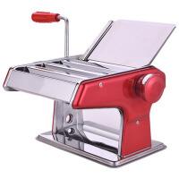 家用面条机手动不锈钢饺子馄饨皮机擀面机压面机