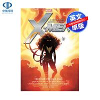 英文原版 x战警:黑凤凰传奇 X-Men: The Dark Phoenix Saga 漫威故事书
