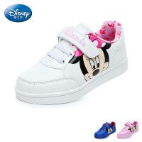 迪士尼Disney童鞋17秋冬儿童运动鞋男女童户外休闲鞋萌趣滑板鞋 (5-10岁可选)