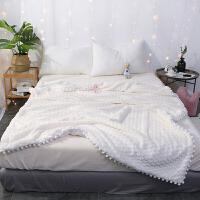 ???兔兔绒毛毯双层加厚羊羔绒毯子珊瑚绒午休小毯子