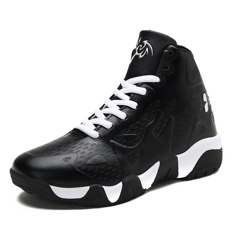 童鞋男童篮球鞋2018秋冬季新品儿童运动鞋男小学生防滑球鞋战靴男  30-39