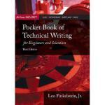 【预订】Pocket Book of Technical Writing for Engineers & Scient