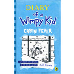 Diary of a Wimpy Kid: Cabin Fever 小屁孩日记 6:幽闭症(英国版,精装)ISBN 9780141341880