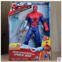 蜘蛛侠2 可发声 发光 关节可动人偶玩具模型