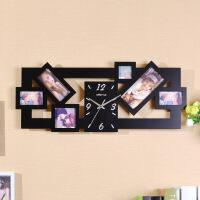 创时达钟表个性地中海欧式居钟饰客厅卧室相框静艺挂钟 其他