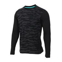 Adidas阿迪达斯 男装 运动休闲跑步长袖T恤套头衫 DH3976