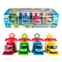 韩国泰路TAYO巴士 动漫可爱回力小汽车太友小公交车儿童卡通玩具 豪华套装带屋子 动漫场景