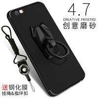 苹果6s手机壳iphone6splus潮男超薄磨砂黑i6s新款sp硅胶软壳ip女6p套全包防摔ipo