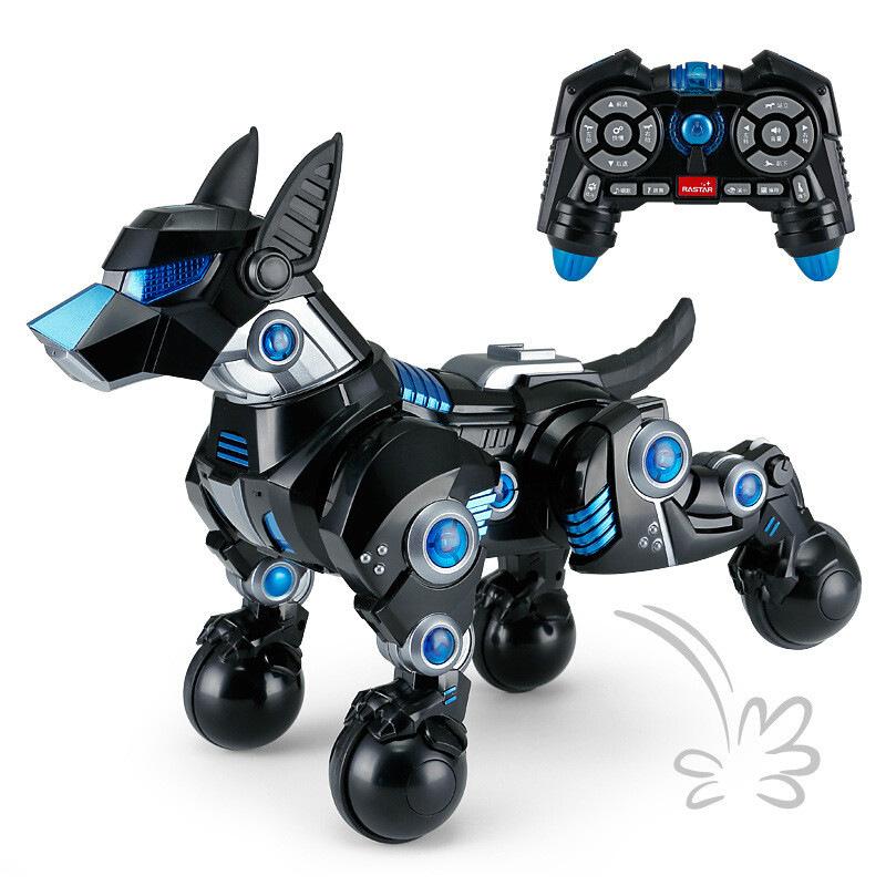 ?星辉智能机器狗充电动遥控会走比特犬杜高宠物人儿童玩具陪伴小狗  官方标配含机身充电+遥控器电池