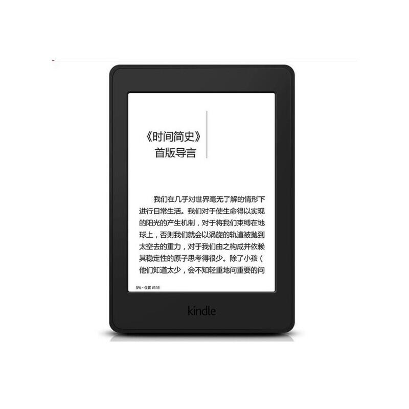 亚马逊 Kindle paperwhite  电子书阅读器 电纸书 墨水屏 经典版 第四代 32G 6英寸 wifi 内置阅读灯,无惧水溅阅尽点滴