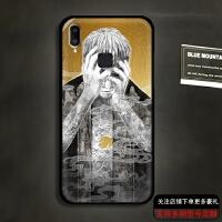 步步高vivo X21手机壳x21plus黑磨砂软保护套中国风般若百鬼恶魔 X21 心中有日月