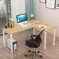转角电脑桌台式卧室家用学生写字桌简约书桌拐角桌L型简易办公桌