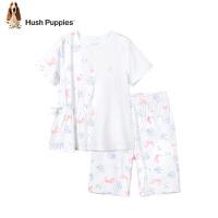 【3件3折价:97.8元】暇步士童装女童家居服套装夏装新款卡通拼接轻薄儿童睡衣睡裤