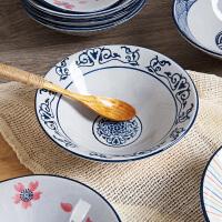 陶瓷大汤碗米饭碗面碗可微波炉吃饭碗 家用餐具沙拉陶瓷碗面条碗