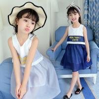 童装夏装女童连衣裙新款儿童大童公主裙洋气雪纺潮