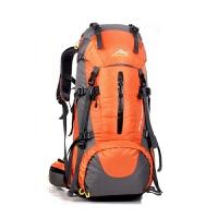 户外登山旅行双肩包男女运动45+5L大容量野营背包