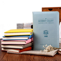 晨光笔记本学生创意文具记事本子办公皮革胶套本3本装APYH8970