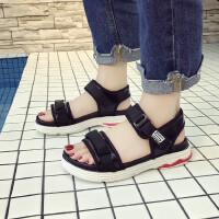 女童运动凉鞋2018新款韩版夏季小公主潮小女孩休闲中大童沙滩鞋
