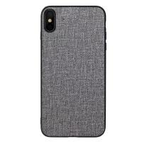 布纹手机壳iPhone8 Plus适用iPhoneXS MAX布艺防摔手机保护套