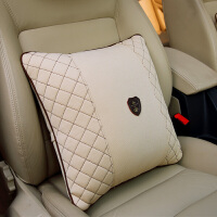 汽车抱枕可爱卡通车用靠垫沙发枕头四季通用办公室座椅靠背护腰垫