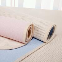 宝宝纯棉透气超大号防水床垫婴儿竹纤维双面隔尿垫 大号