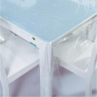 PVC透明软玻璃桌布下垂餐桌垫台布艺防水水晶板塑料片材薄膜