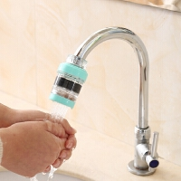 净水器水龙头家用过虑器嘴水笼头自来水滤芯通用活炭小型直饮的