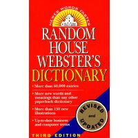 Random House Webster's Dictionary韦氏英语词典